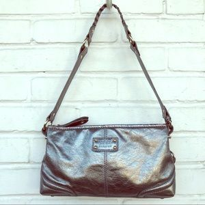 Metallic Leather Silver The Sak Purse